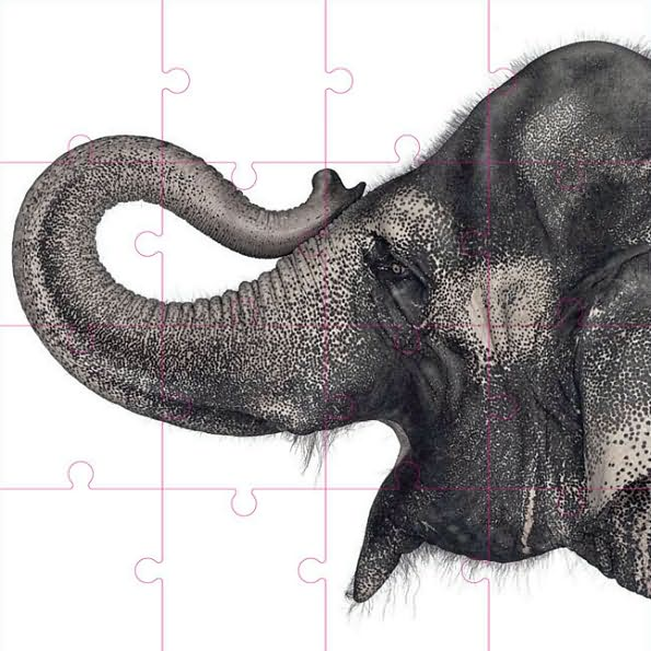 Zuckerman_creatures_puzzle_elephant