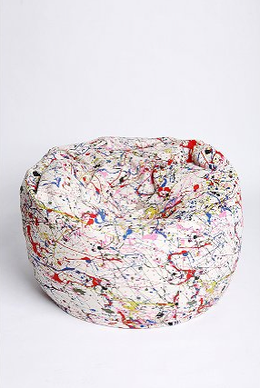 Pollock_bean_bag_chair