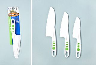 Plastic Cooking Knife Set for Kids - Set of 3