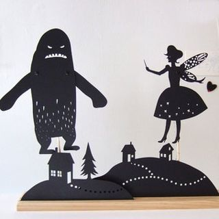 Tooth Fairy Landscape Shadow Puppet Set