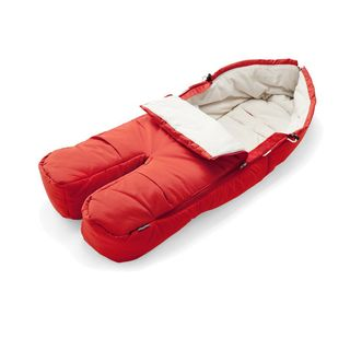 Stokke xplory foot muff - red