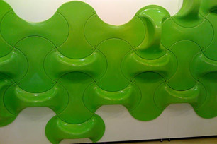 Maruja_fuentes_leaningmolds_green